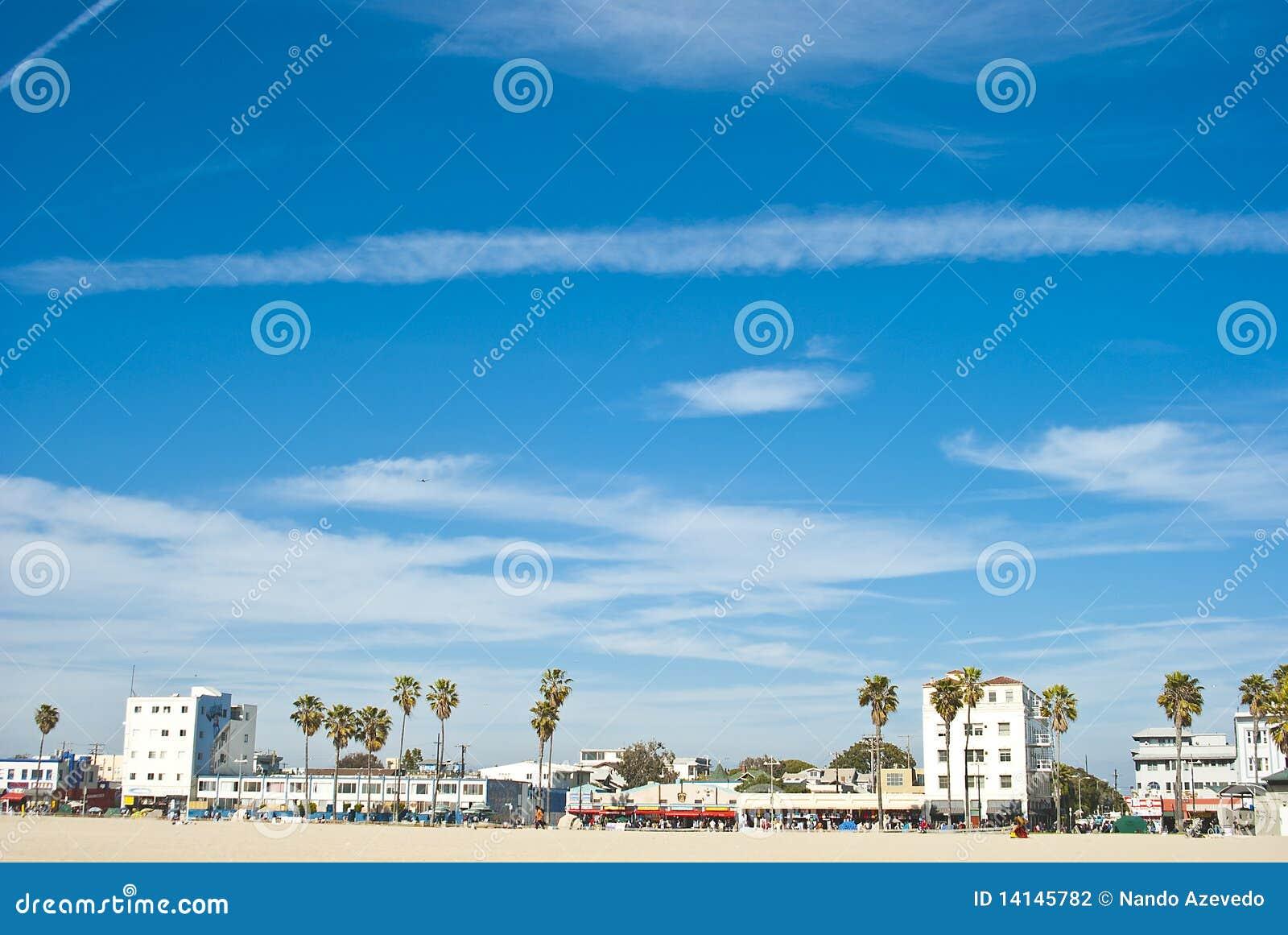 Día asoleado en la playa 7 de Venecia de 7