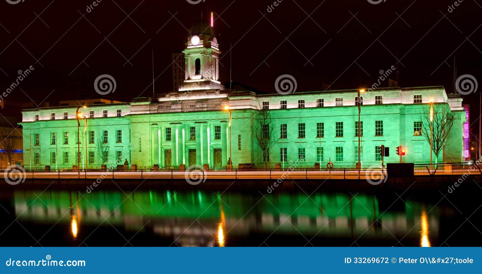 Día de Cork City Hall - de St Patrick