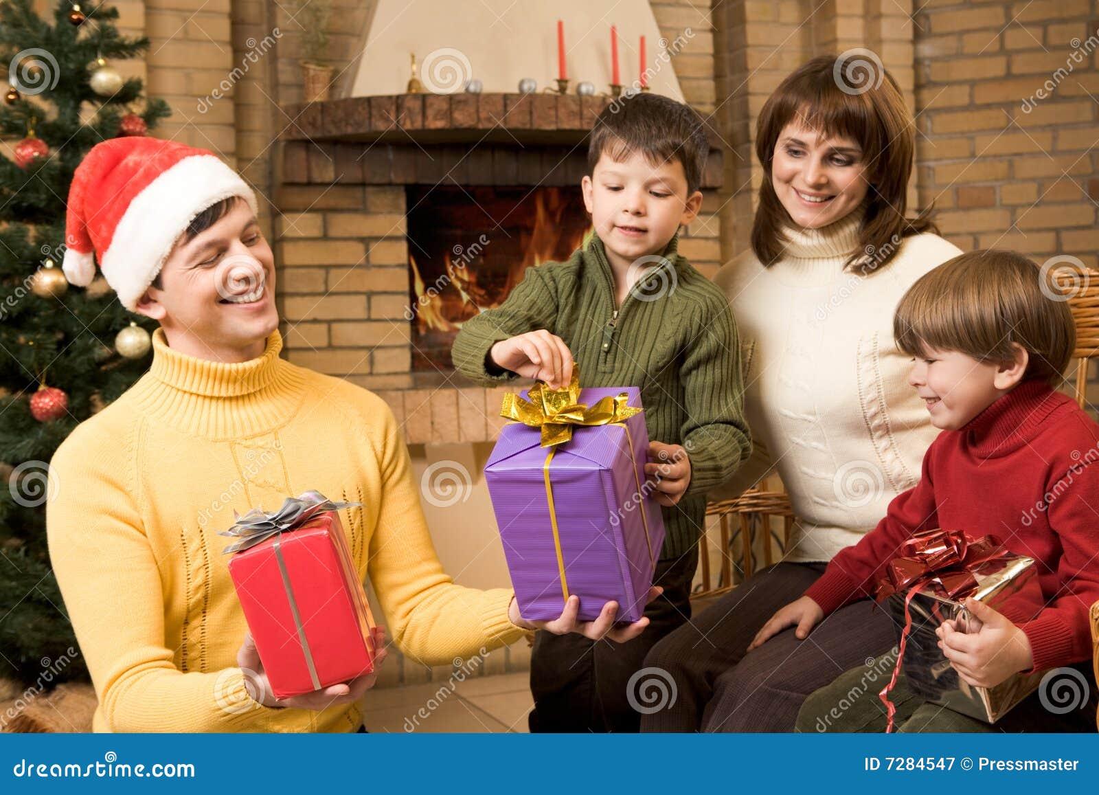 Día de fiesta de la familia
