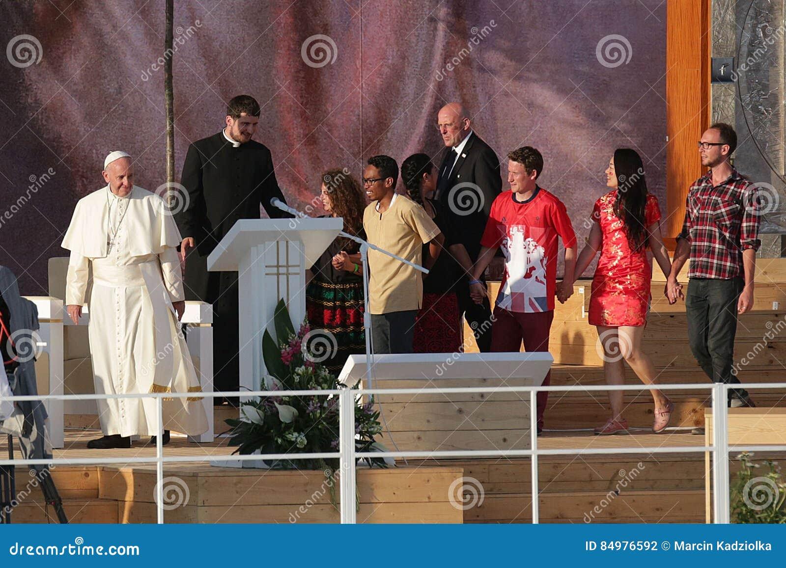 Día de juventud de mundo 2016 - papa Francisco
