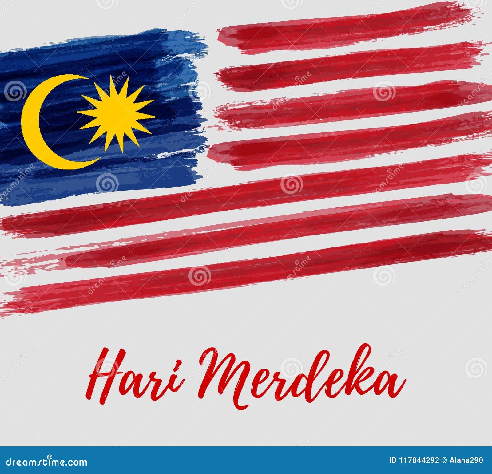 Día de la Independencia de Malasia - día de fiesta de Hari Merdeka
