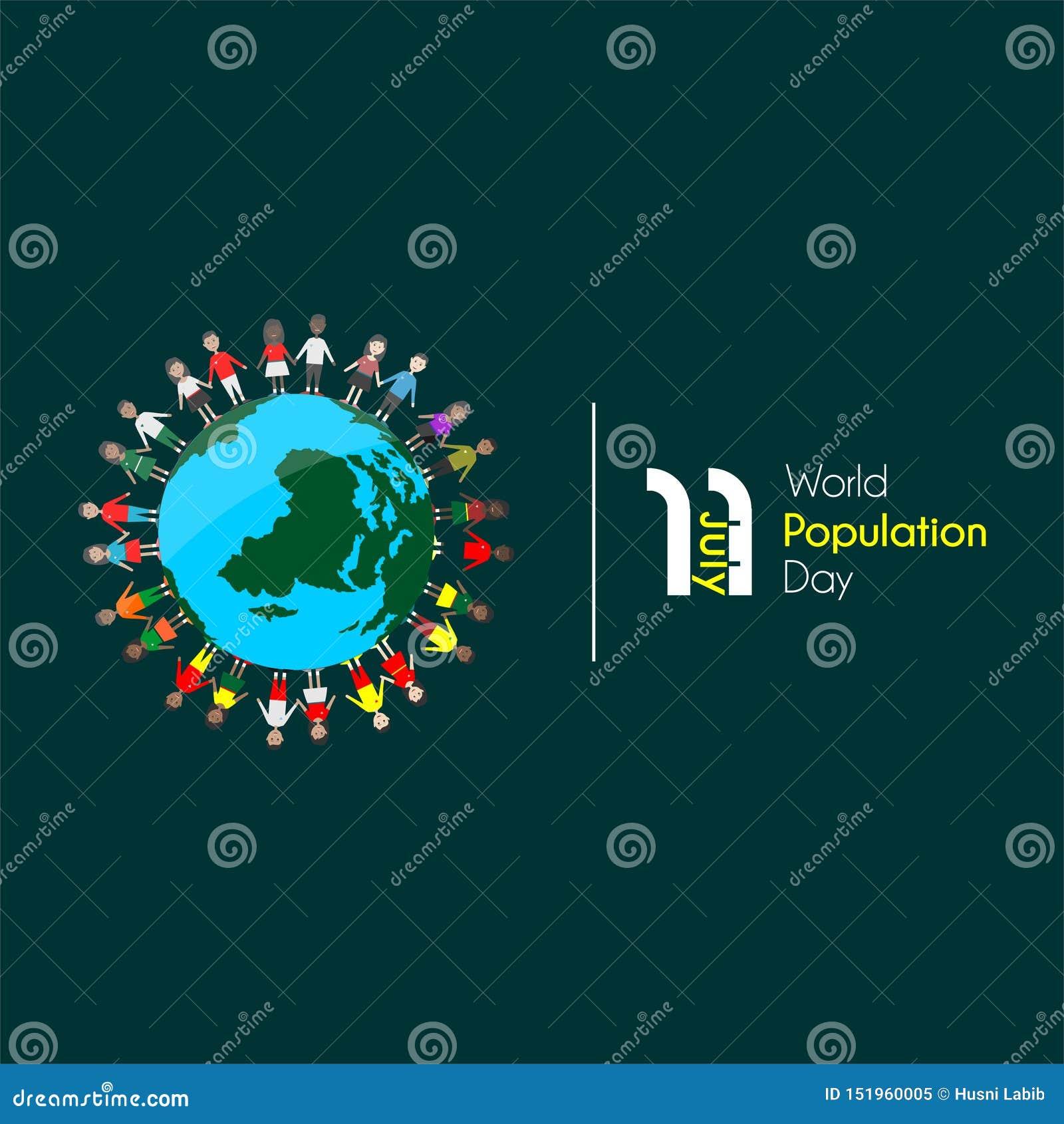 Día de la población mundial el 11 de julio