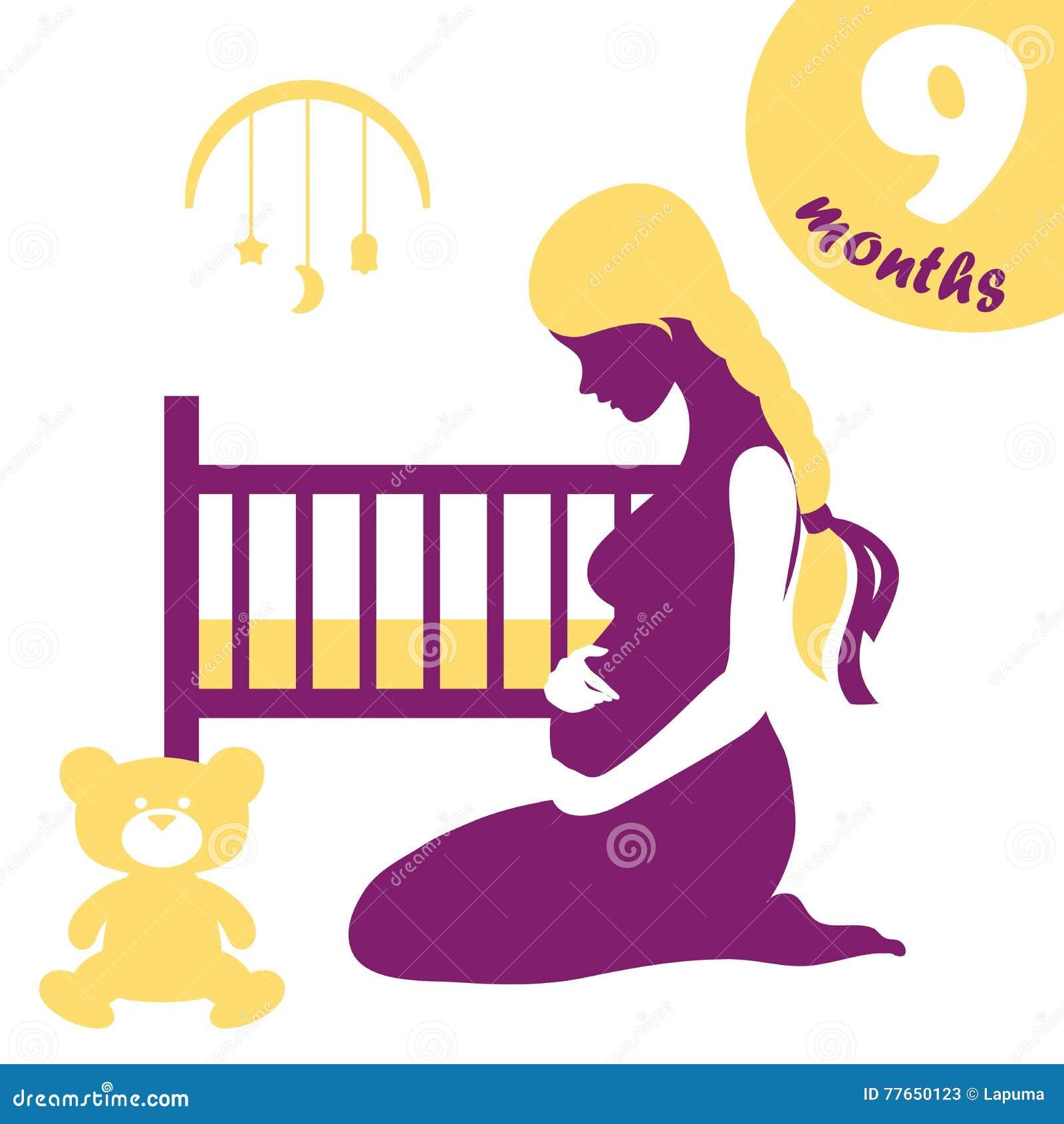 f19ad10ce Día De Madres Feliz Maternidad Ilustración del Vector - Ilustración ...