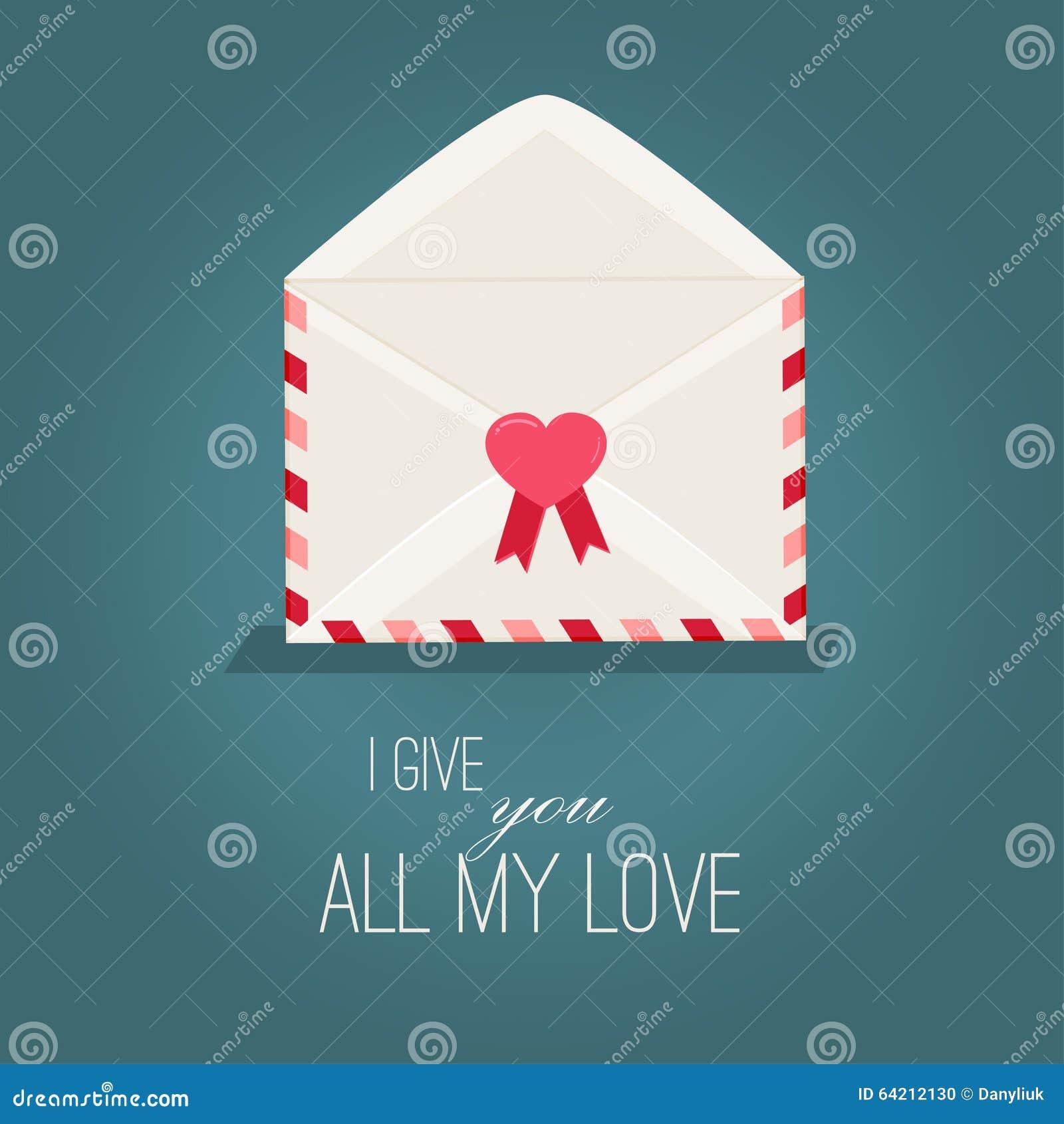 Día de tarjetas del día de San Valentín de tarjeta de felicitación con los corazones rojos