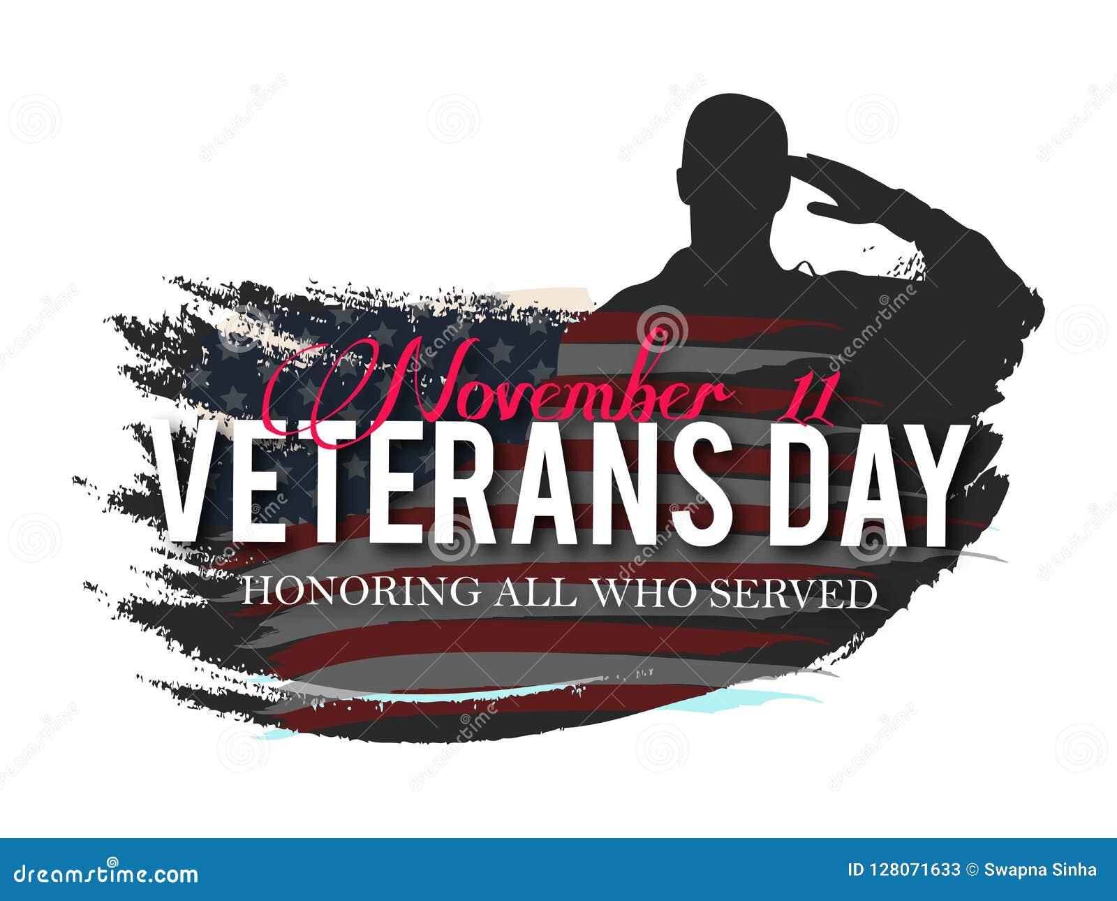 Día de veteranos Honrando a todos que sirvieron