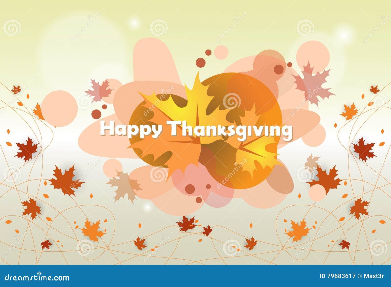 Día feliz Autumn Traditional Holiday Banner de la acción de gracias