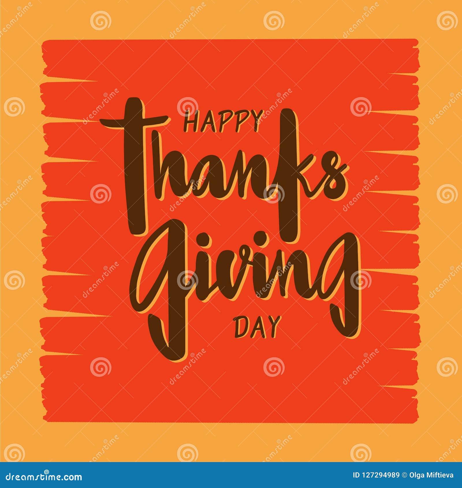 Día Feliz De La Acción De Gracias Para La Invitación Tarjeta De