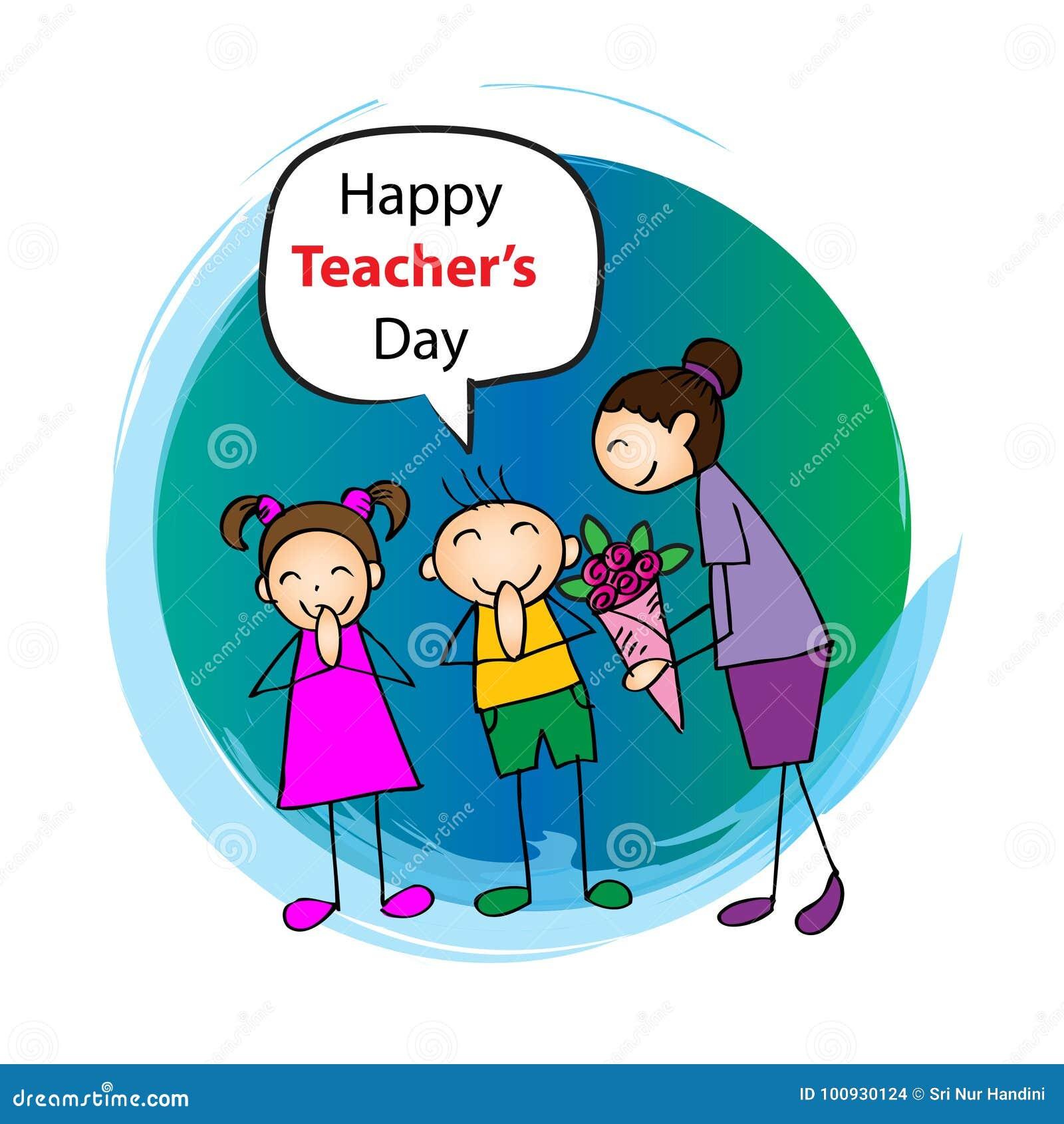 Día feliz de los profesores