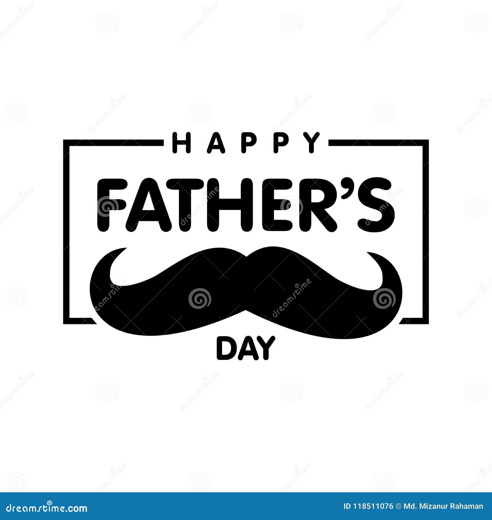 Día feliz del padre s Vector los ejemplos para el special del día del ` s del padre
