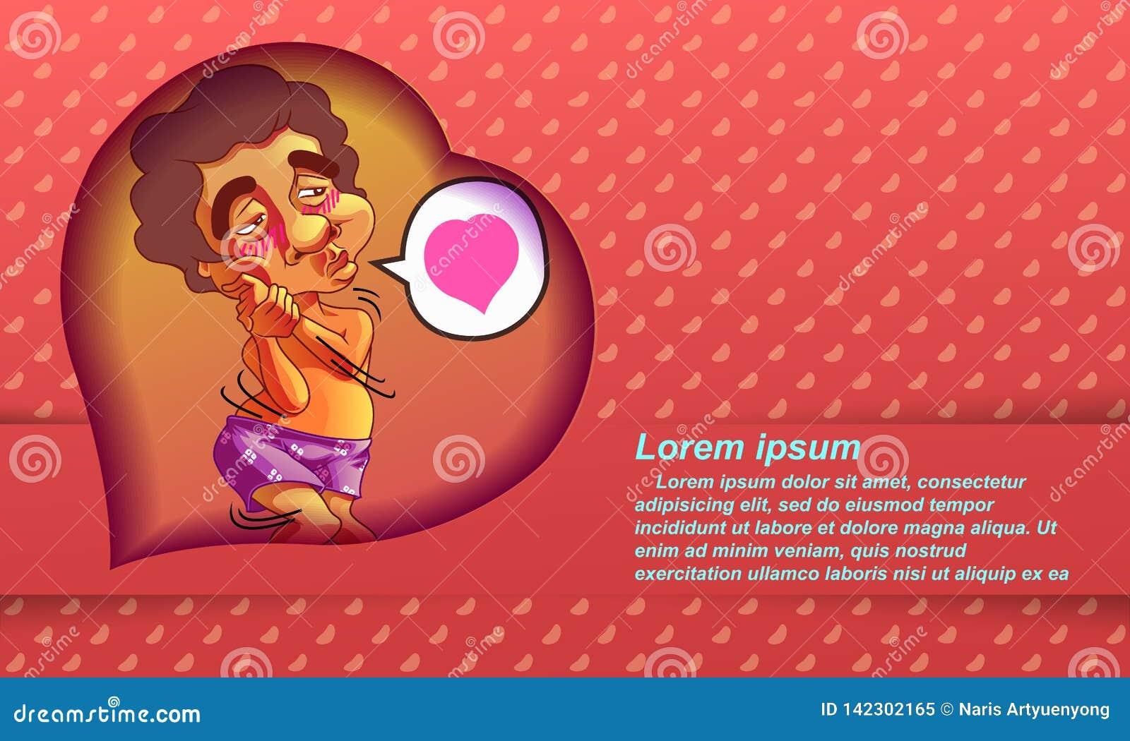 Día feliz del `s de la tarjeta del día de San Valentín