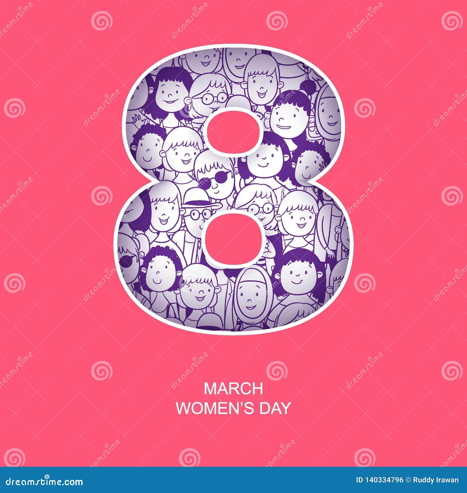 Día internacional del ` s de la mujer