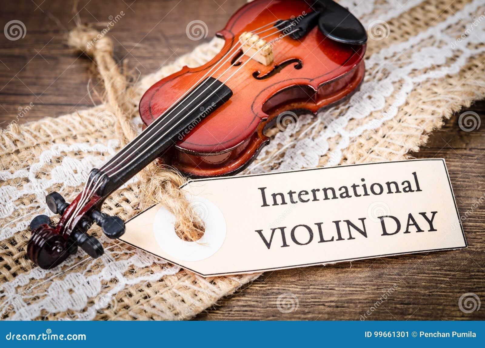 Resultado de imagen para Fotos Día Internacional del violín