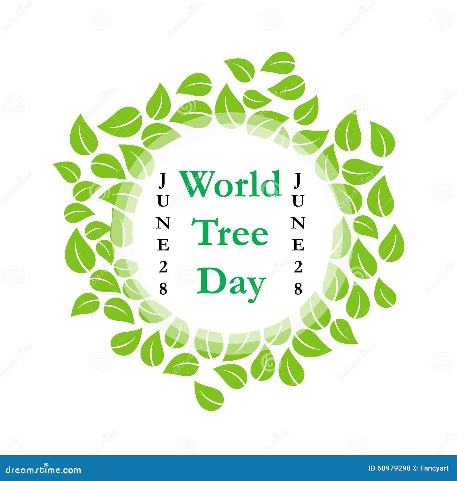Día junio del árbol del mundo