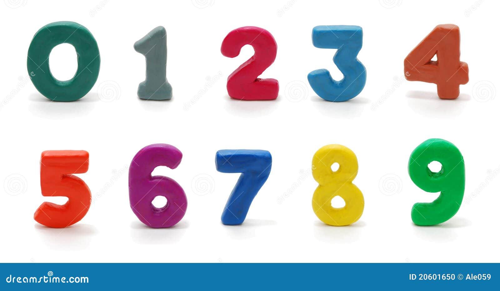 Dígitos aislados 0 a 9