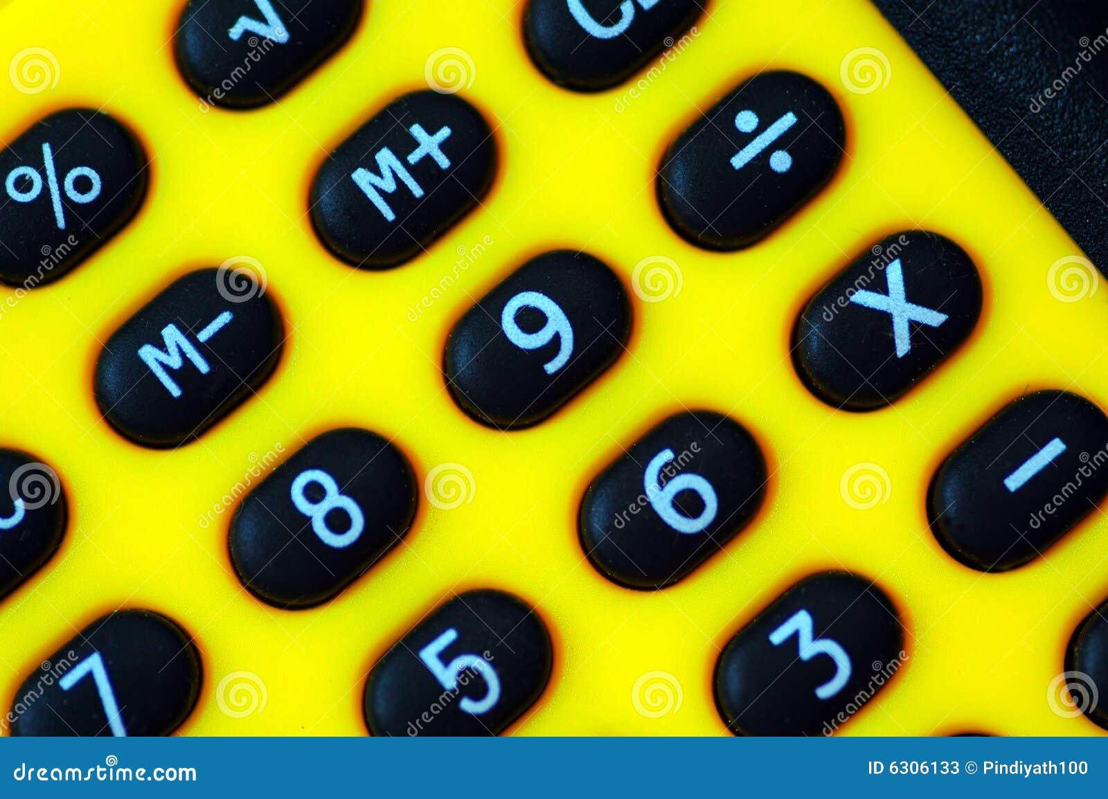Dígitos da calculadora
