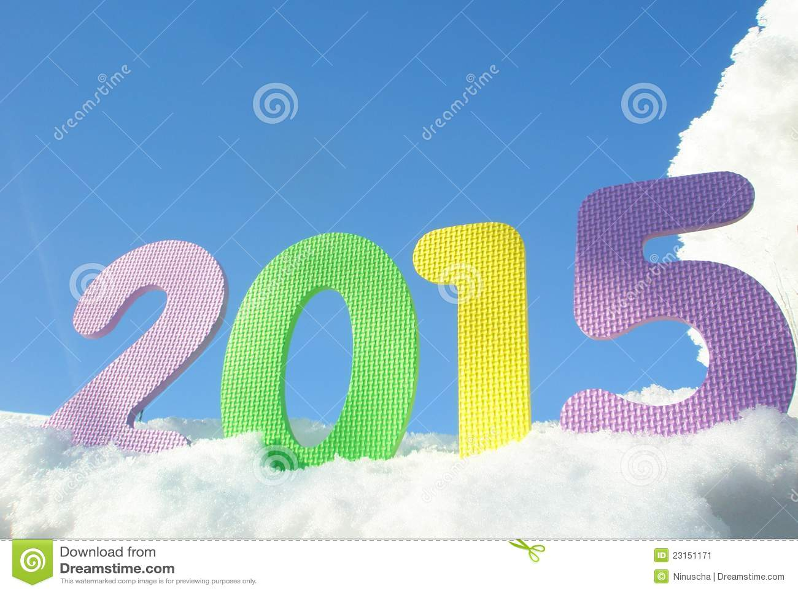 jpeg 120kB, Imagen de archivo: Dígitos de la Feliz Año Nuevo 2015 ...