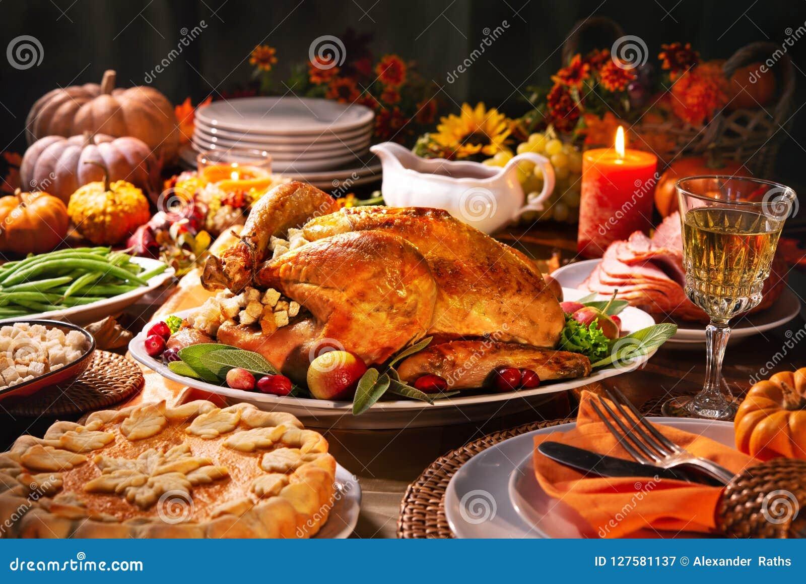 Dîner de la Turquie d action de grâces