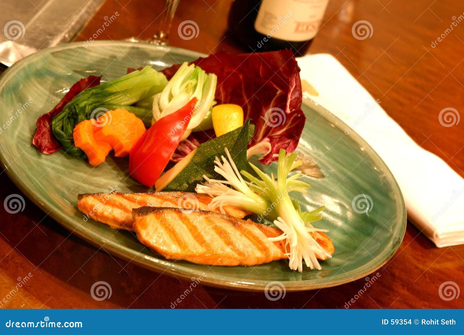 Dîner de sushi