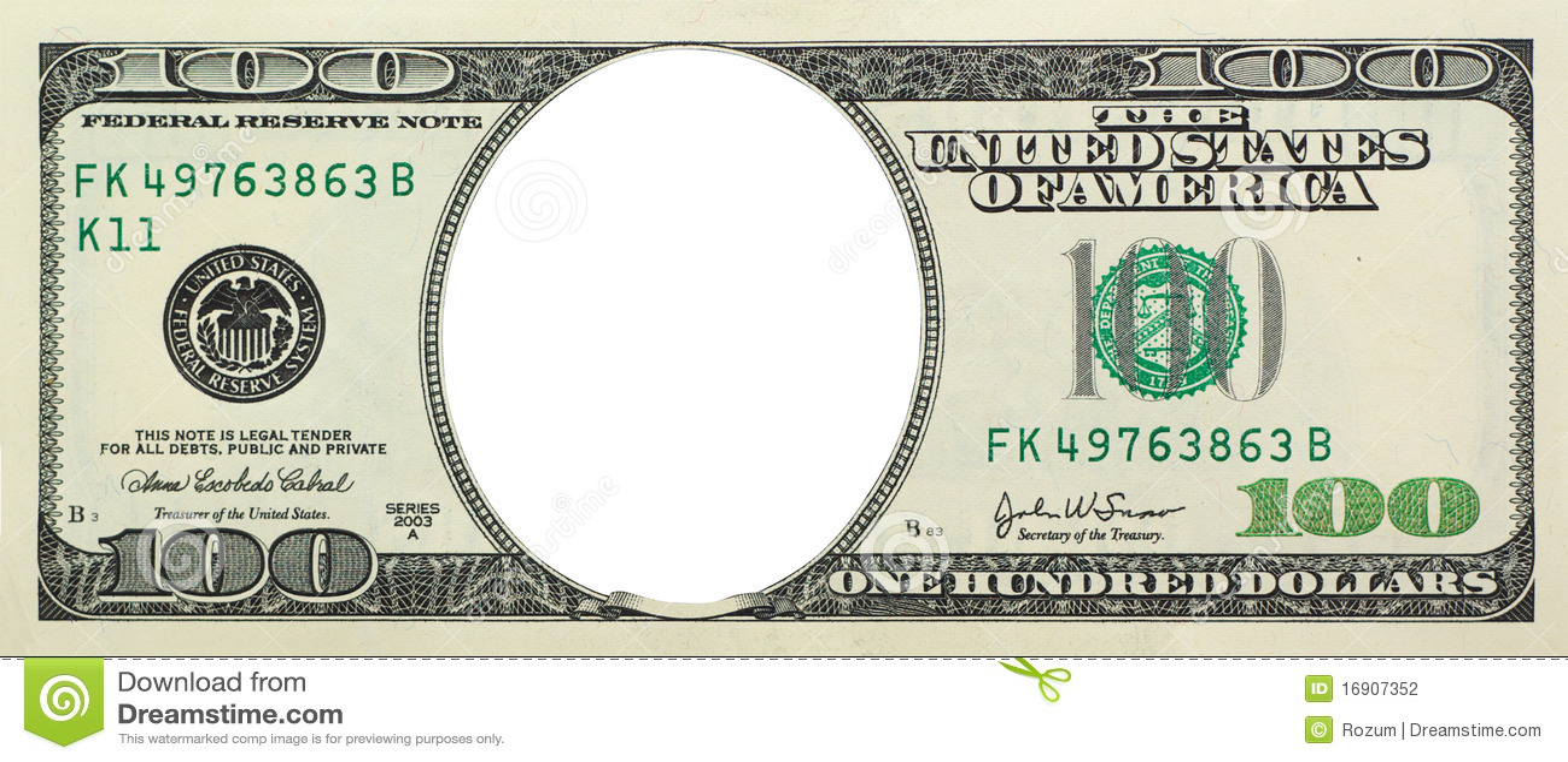 Dólar vacío