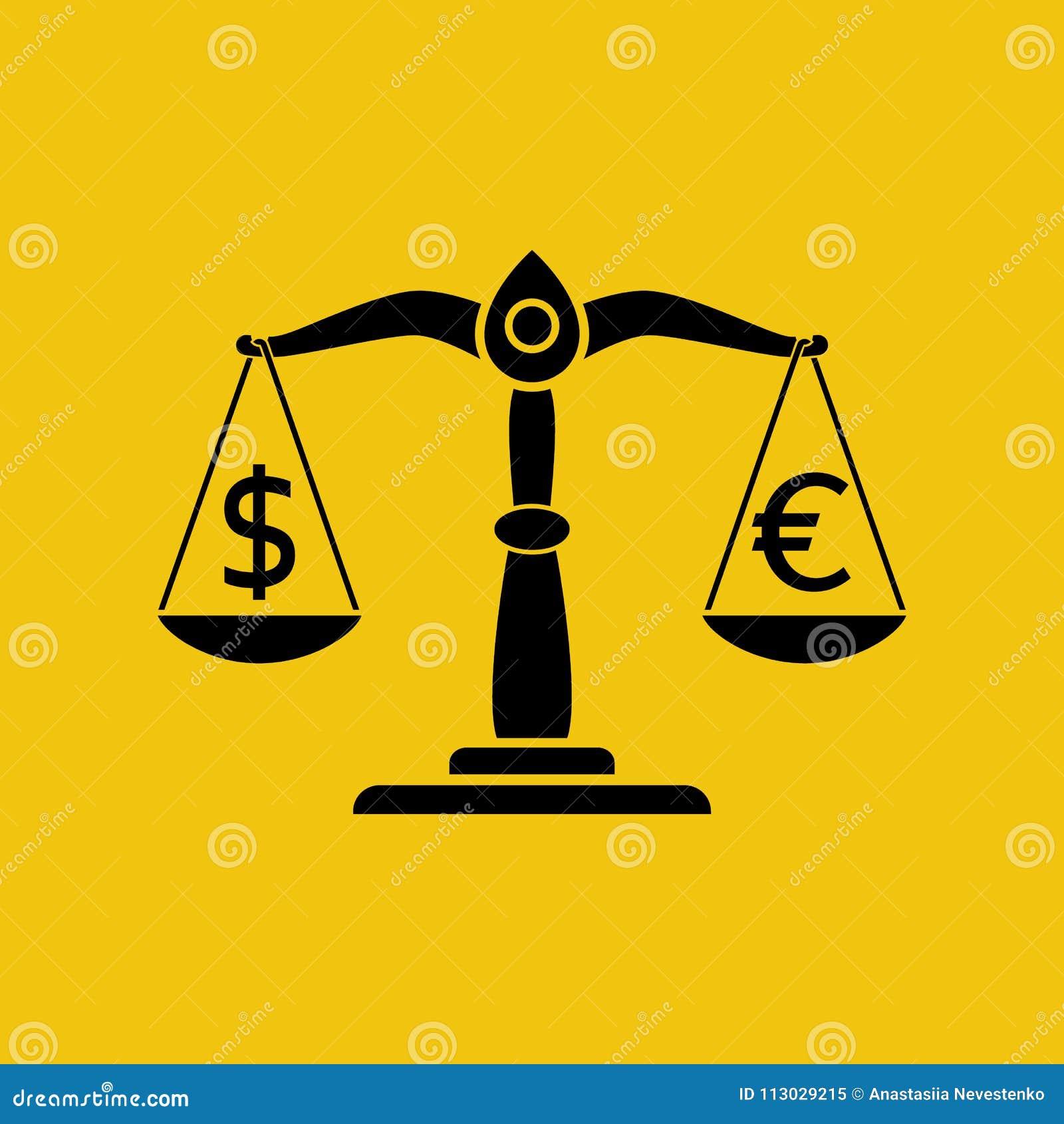 Dólar y euro en escalas