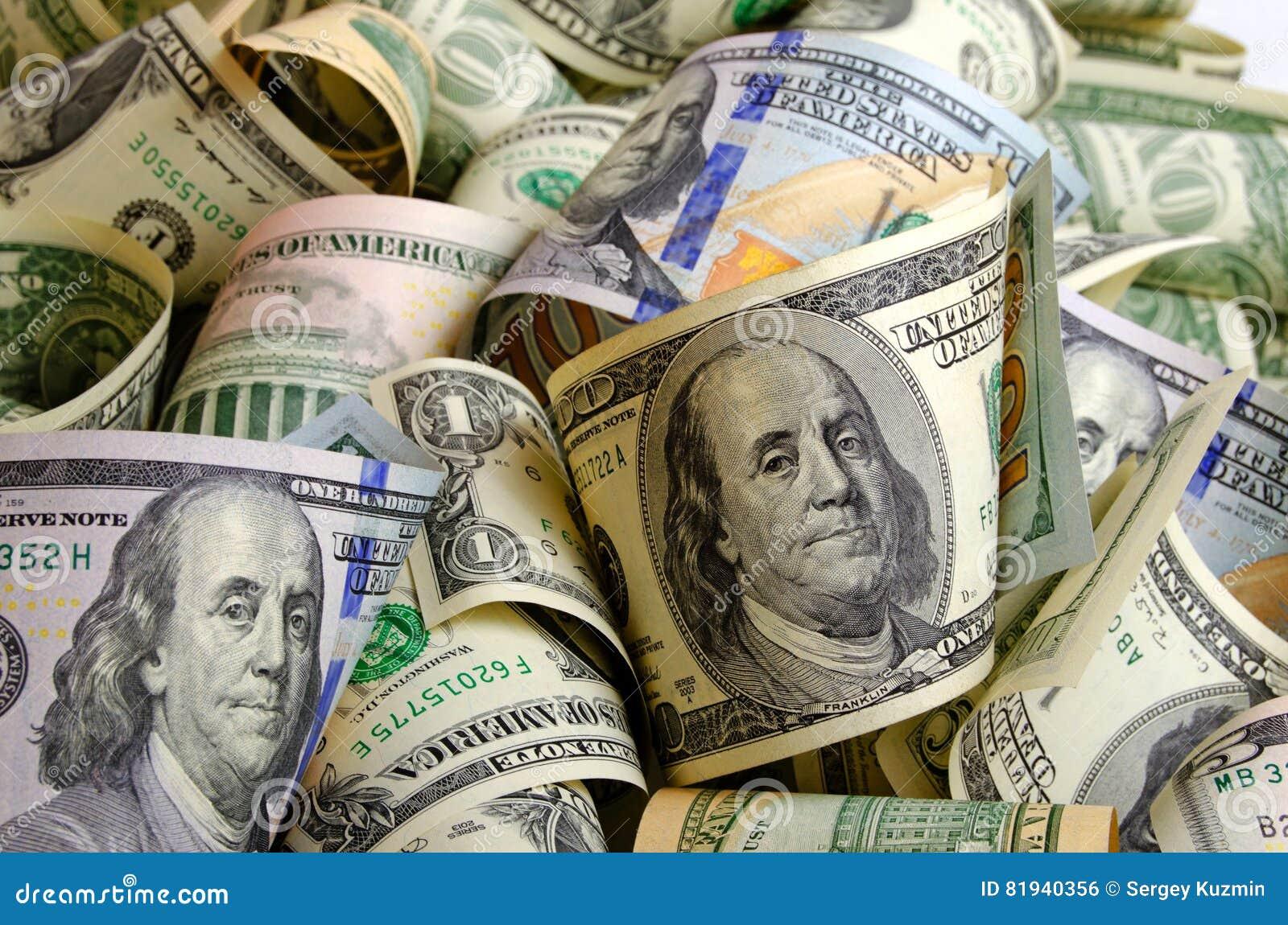 Dólares de EE. UU. del efectivo