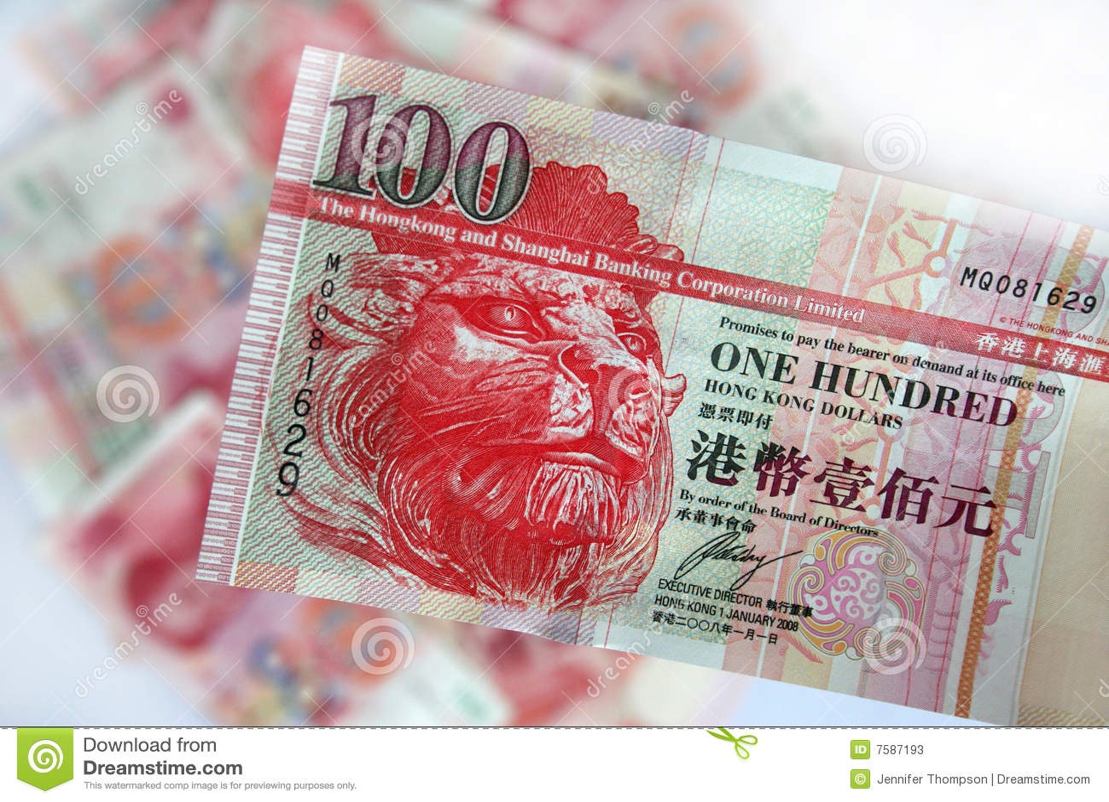 Dólares de Hong-Kong