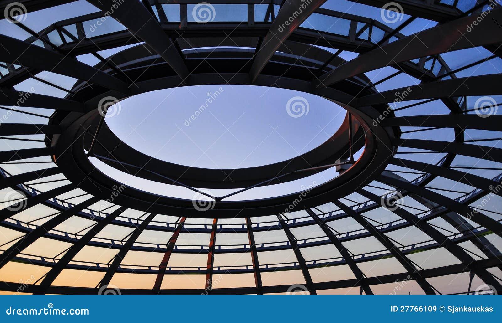 Dôme de Reichstag à Berlin