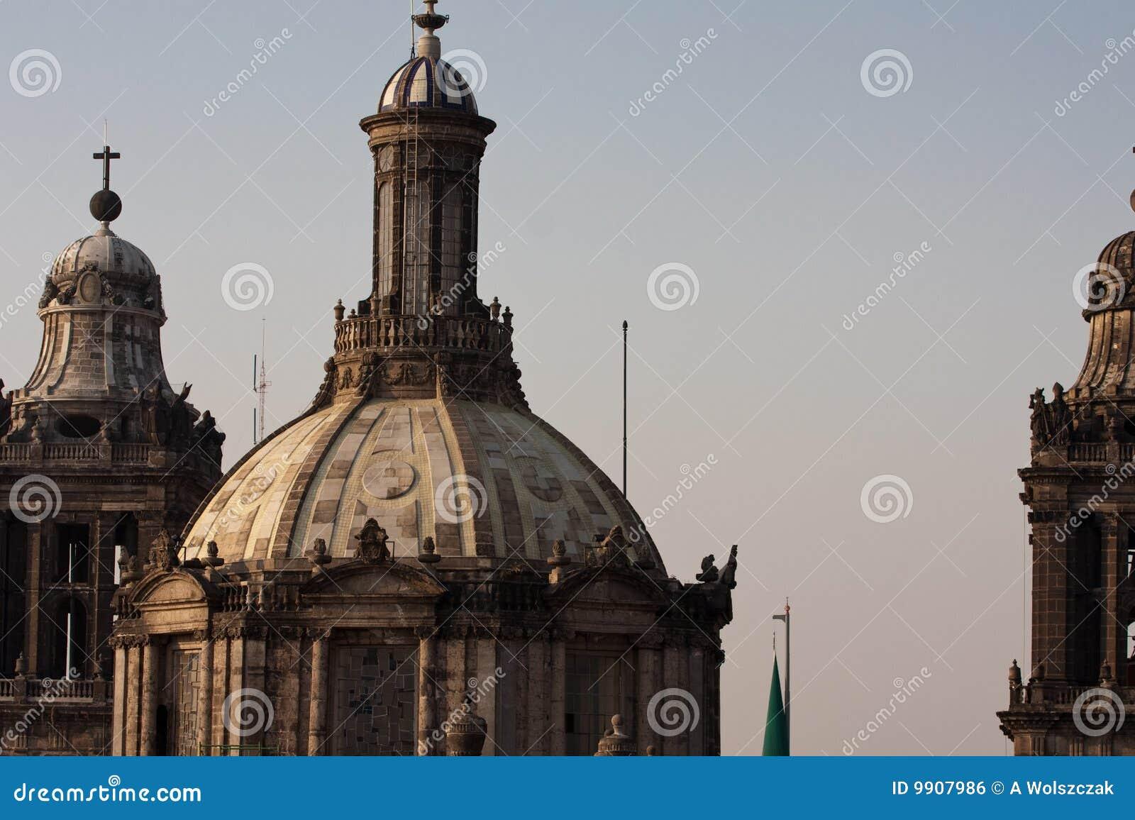 Dôme Mexique de cathédrale