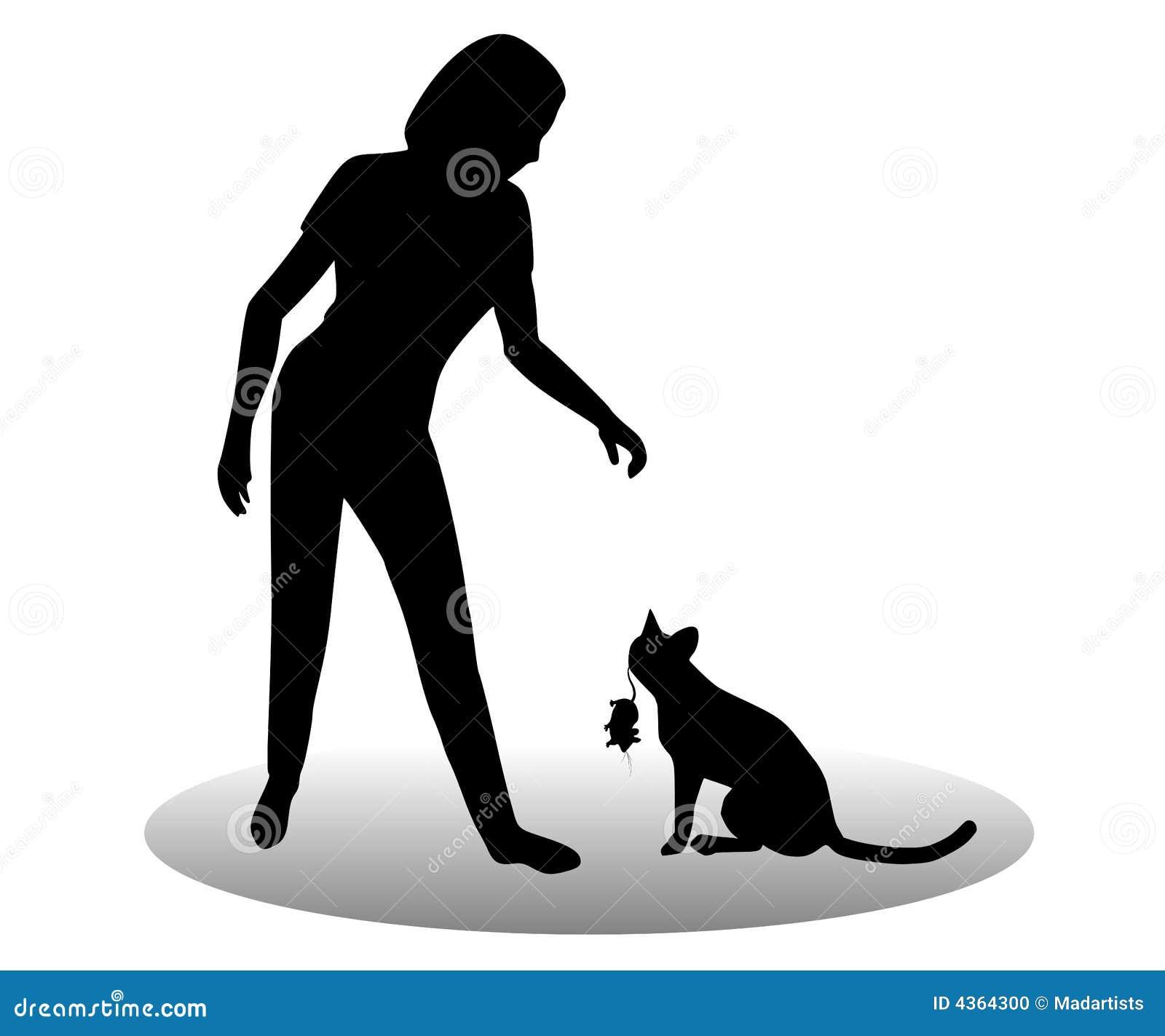 Död gåvamus för katt
