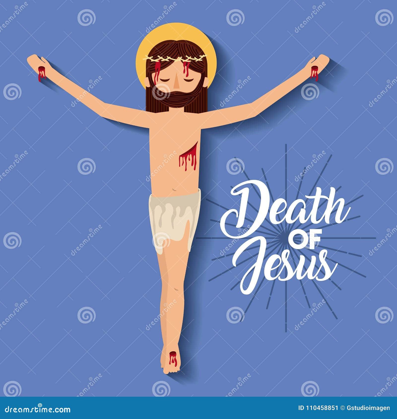 Dödkorsfästelse av jesus christ
