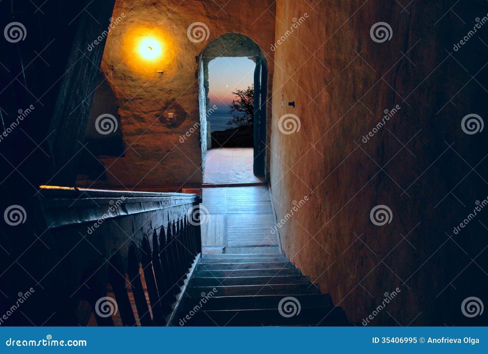 Dörr som öppnas på natten