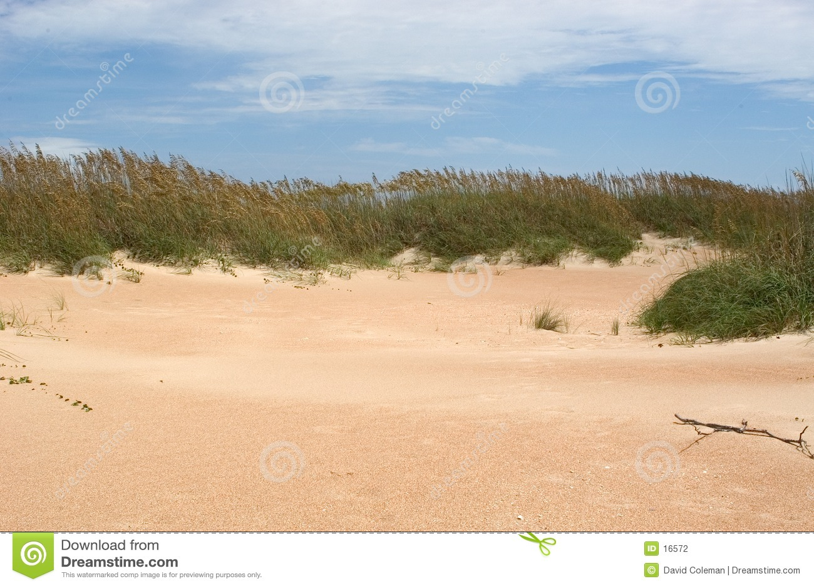 Dünen des Umhang-Ausblickes
