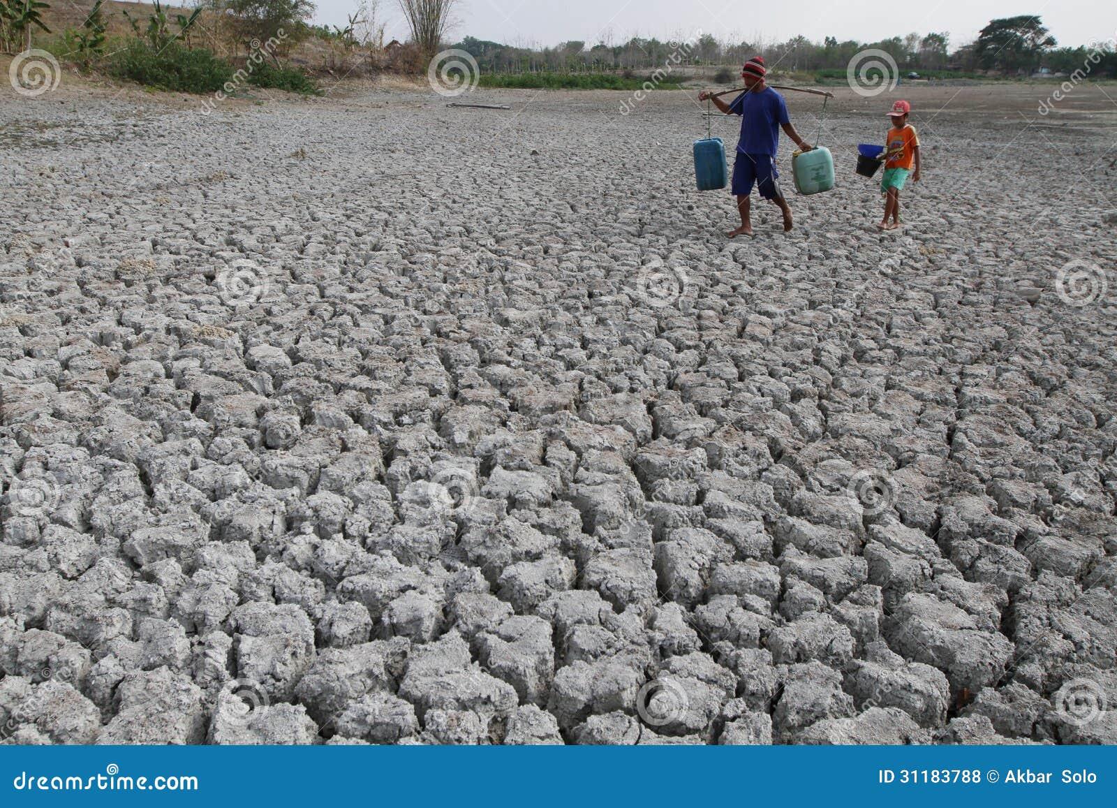 Dürre in Indonesien