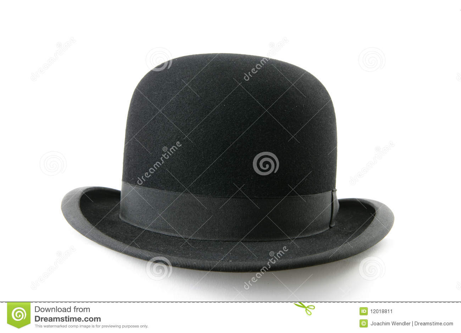 Dęciaka czarny kapelusz
