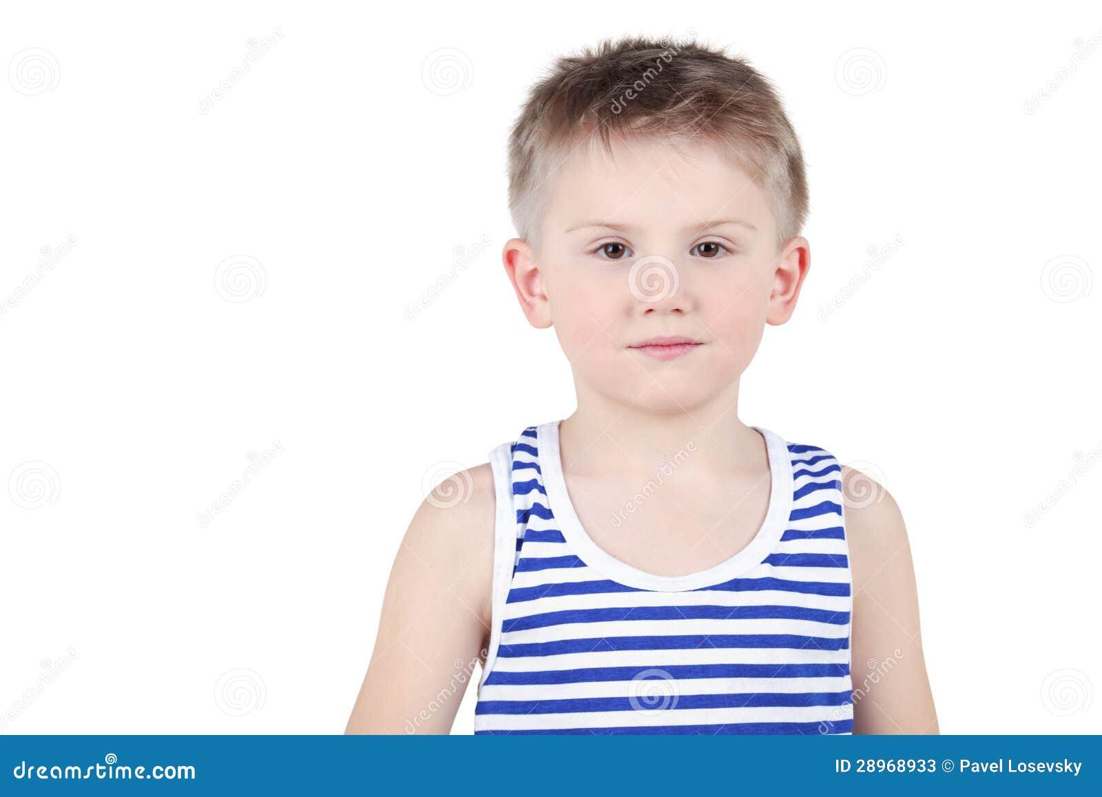 Długość portret chłopiec
