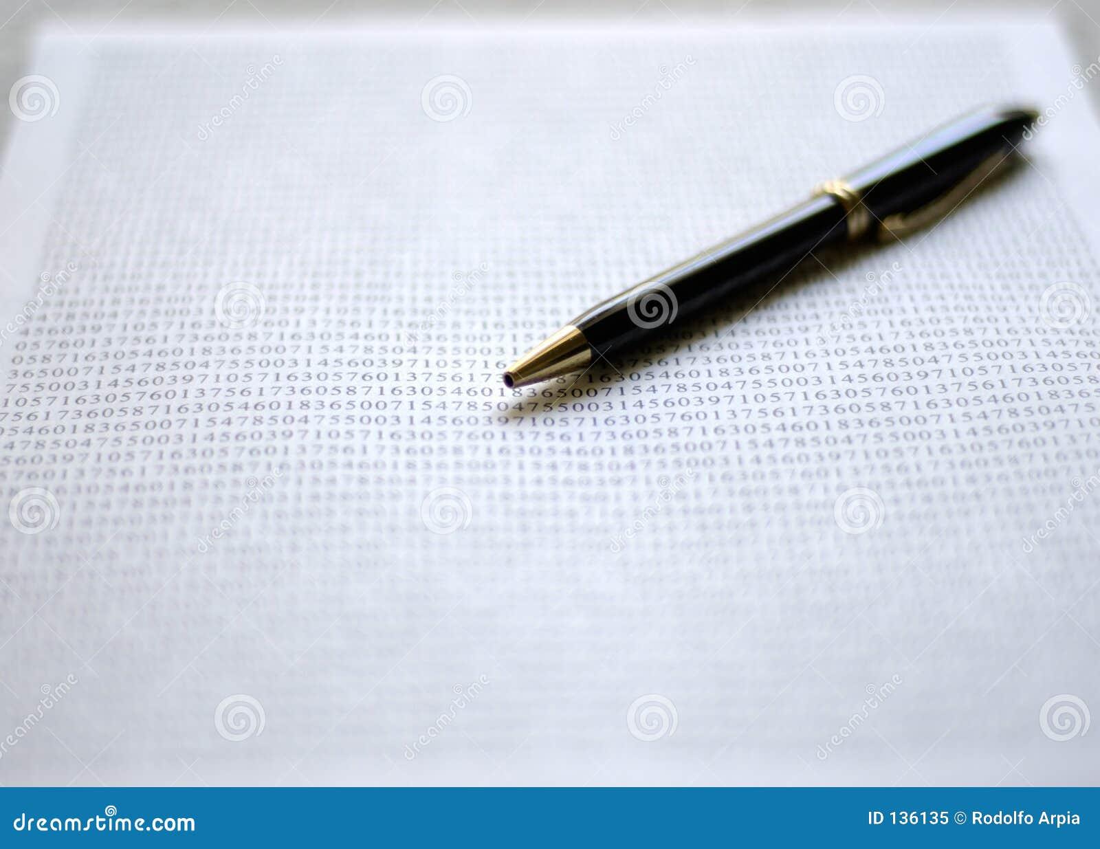 Długopis dokumentu