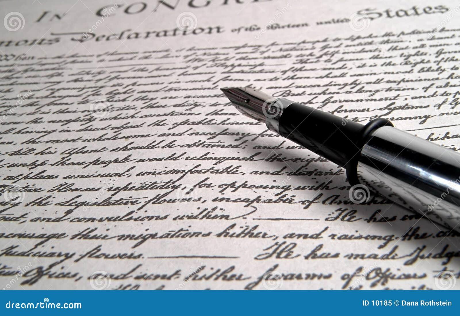 Długopis kaligrafii