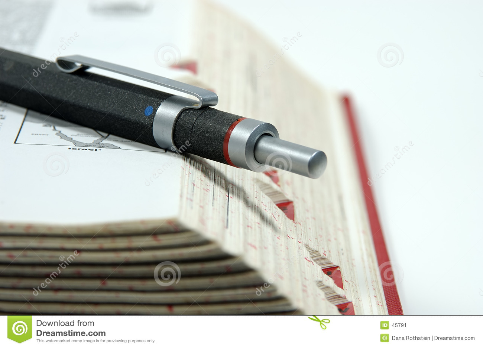 Długopis krawędzi