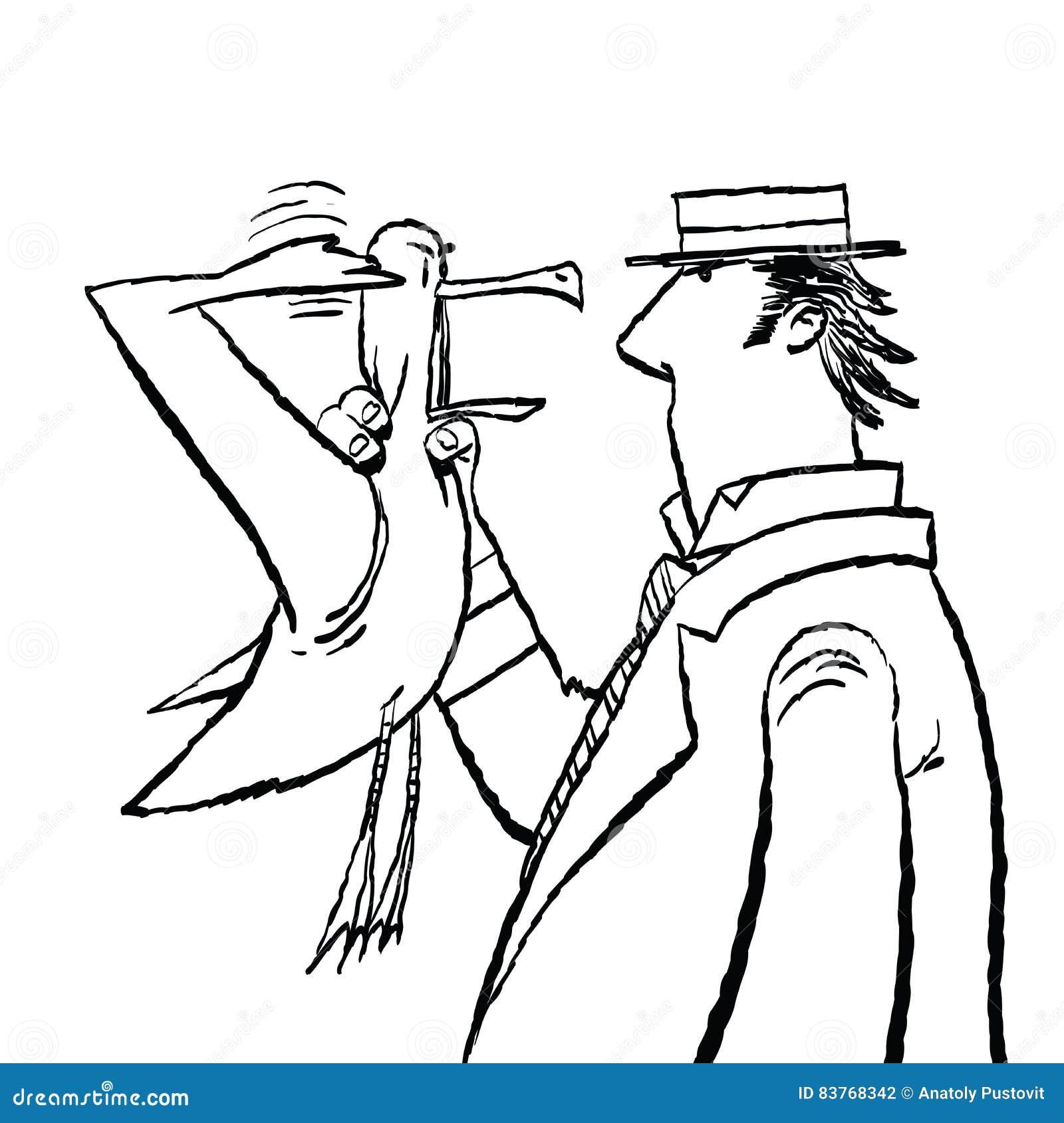 Dżentelmenu i Seagull humor