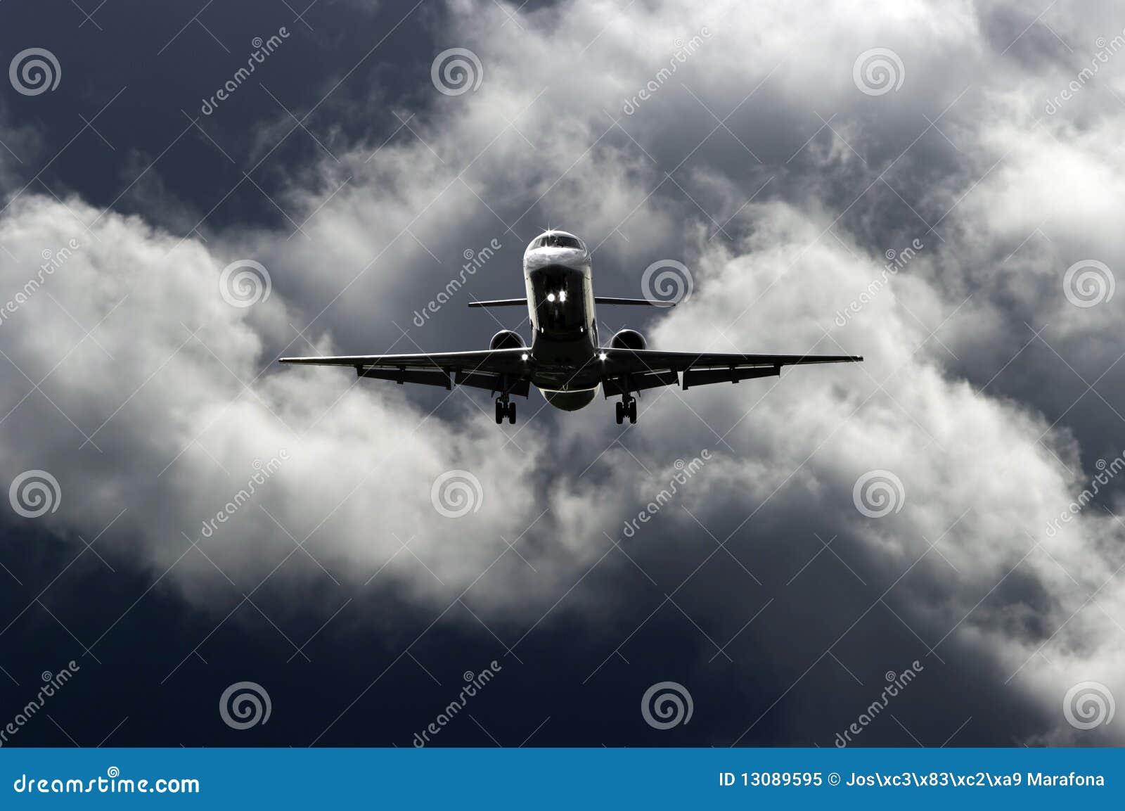 Dżetowy samolot