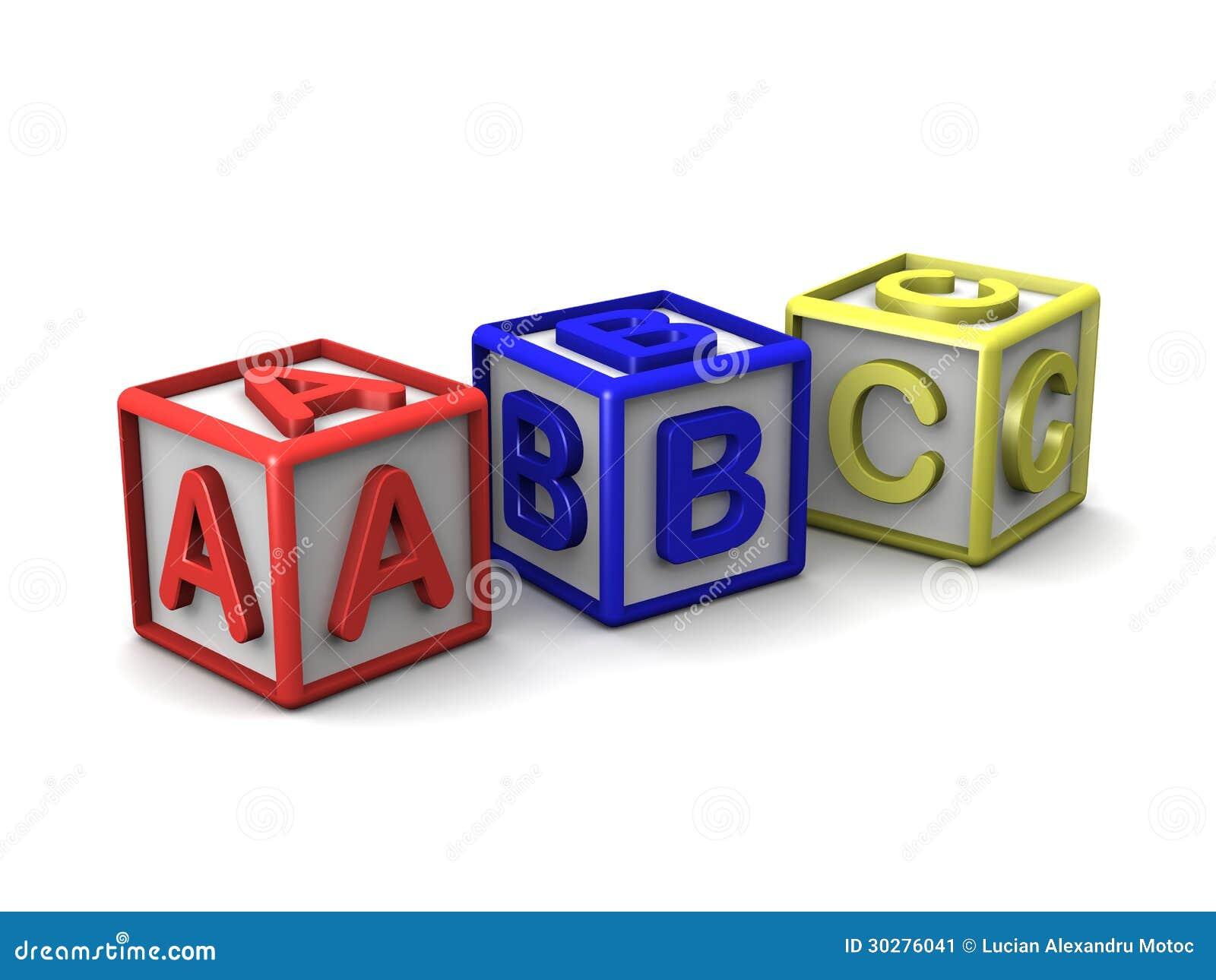 B C在立方体上写字