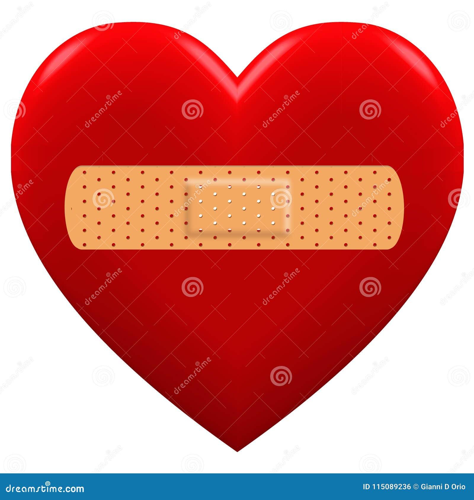 3D与膏药的红心