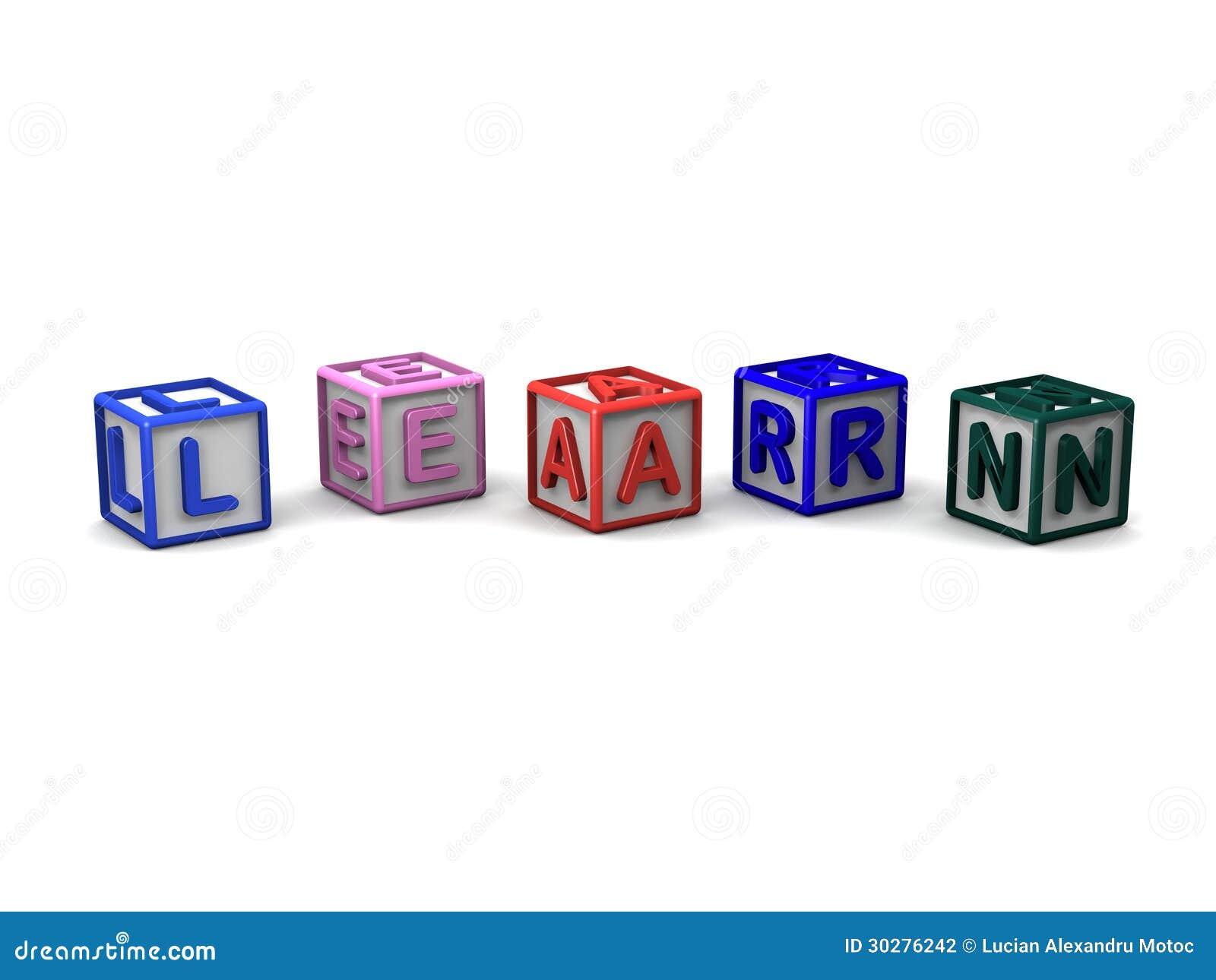 信件立方体拼写学会