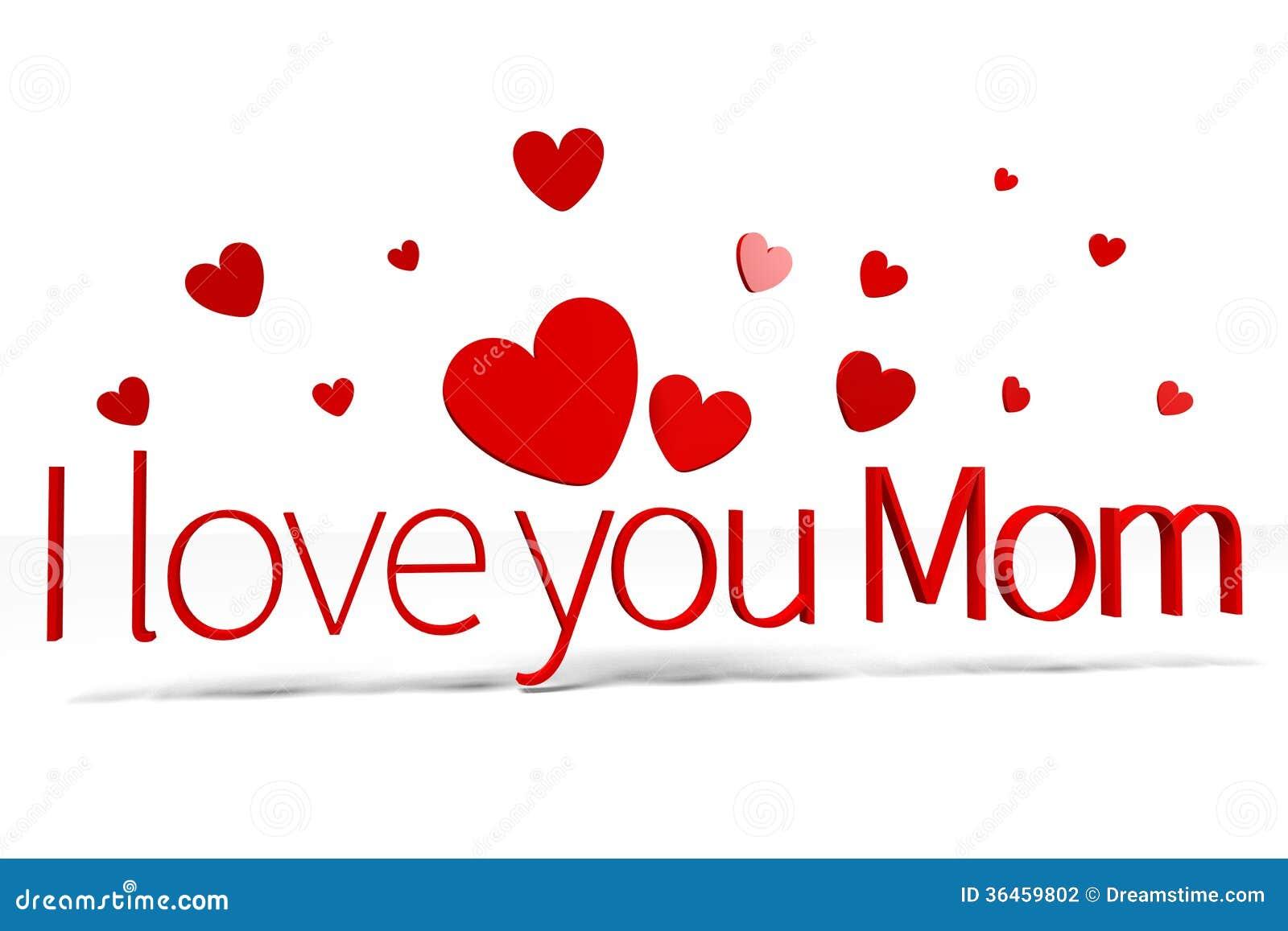 3d图表,心脏,我爱你妈妈