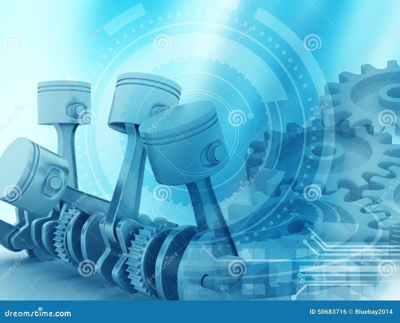 Download 3d引擎活塞和嵌齿轮轮子 库存例证. 插画 包括有 能源, 曲轴, 行业, 次幂, 抽象, 连接数, 活塞 - 50683716