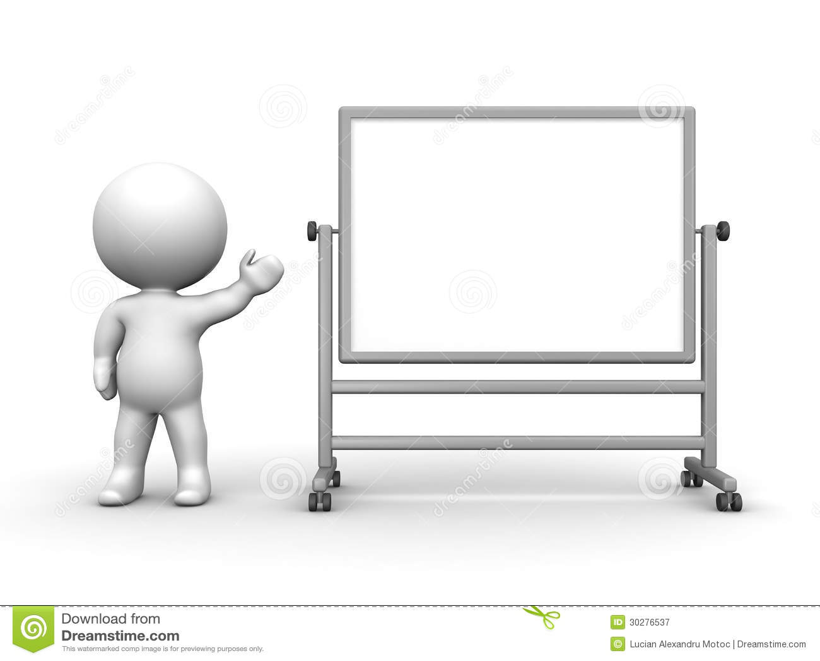 3D当前大Whiteboard的人