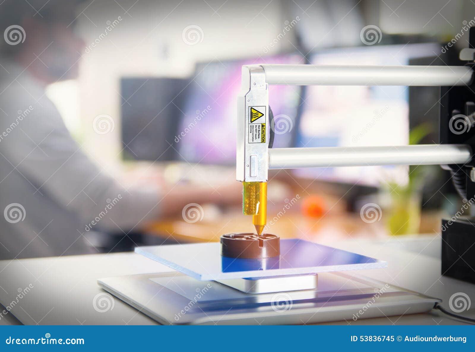 3D打印机办公室