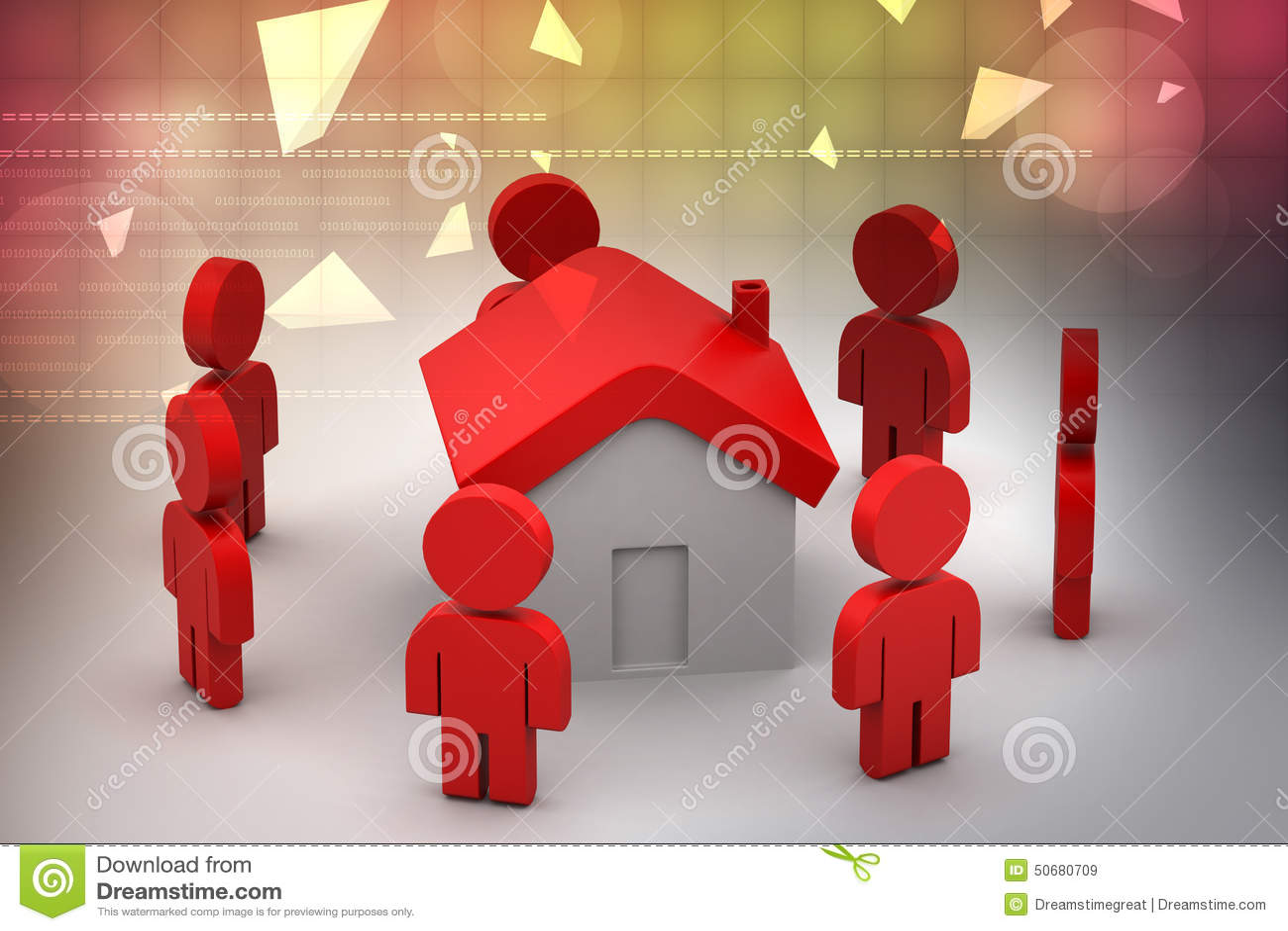 Download 3d有家的,房地产概念人们 库存例证. 插画 包括有 背包, 布琼布拉, 建筑, 庄园, 例证, 查出, 任何地方 - 50680709