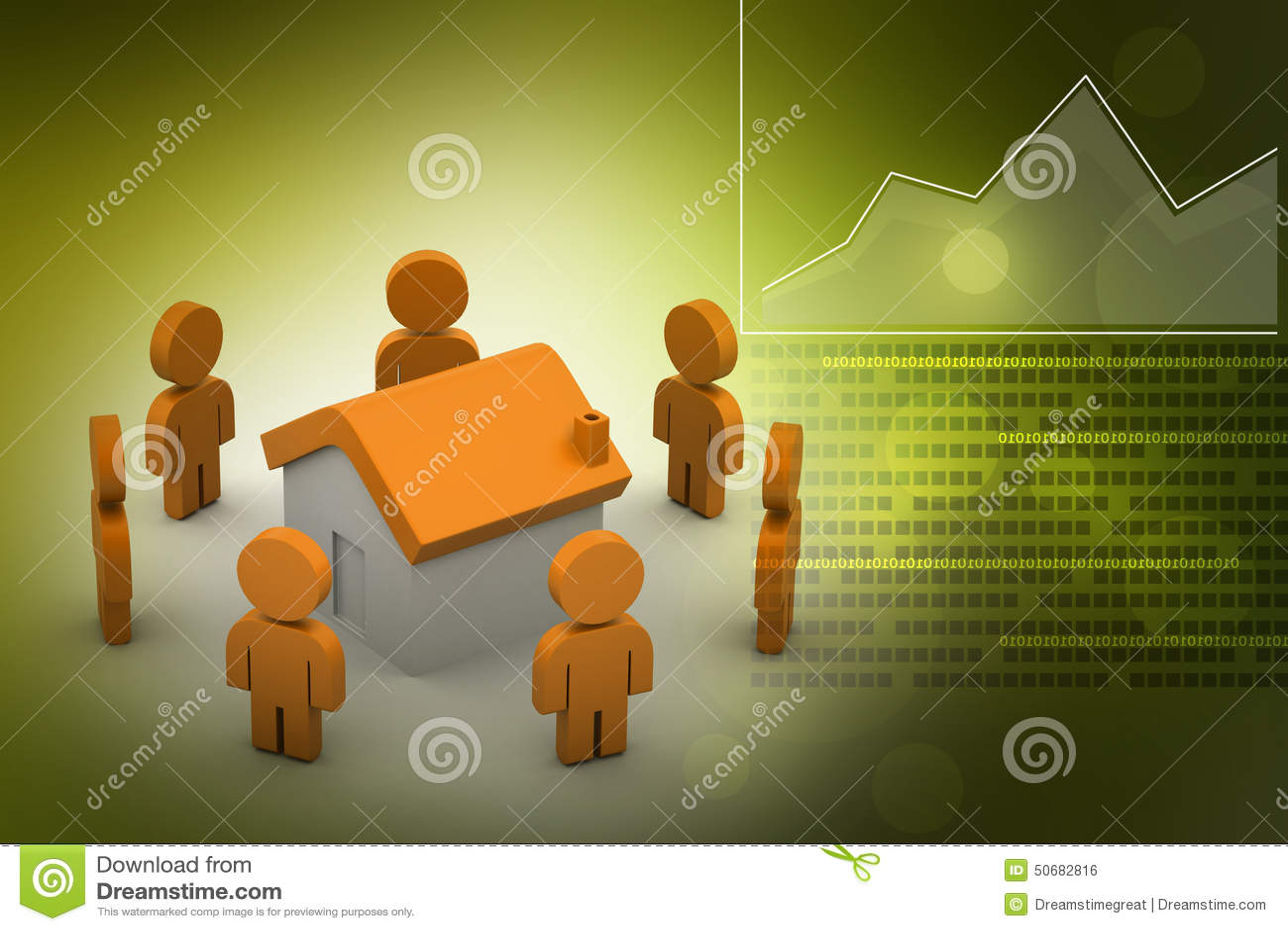 Download 3d有家的,房地产概念人们 库存例证. 插画 包括有 庄园, 拱道, 人力, 建筑, 实际, 布琼布拉, 回报 - 50682816