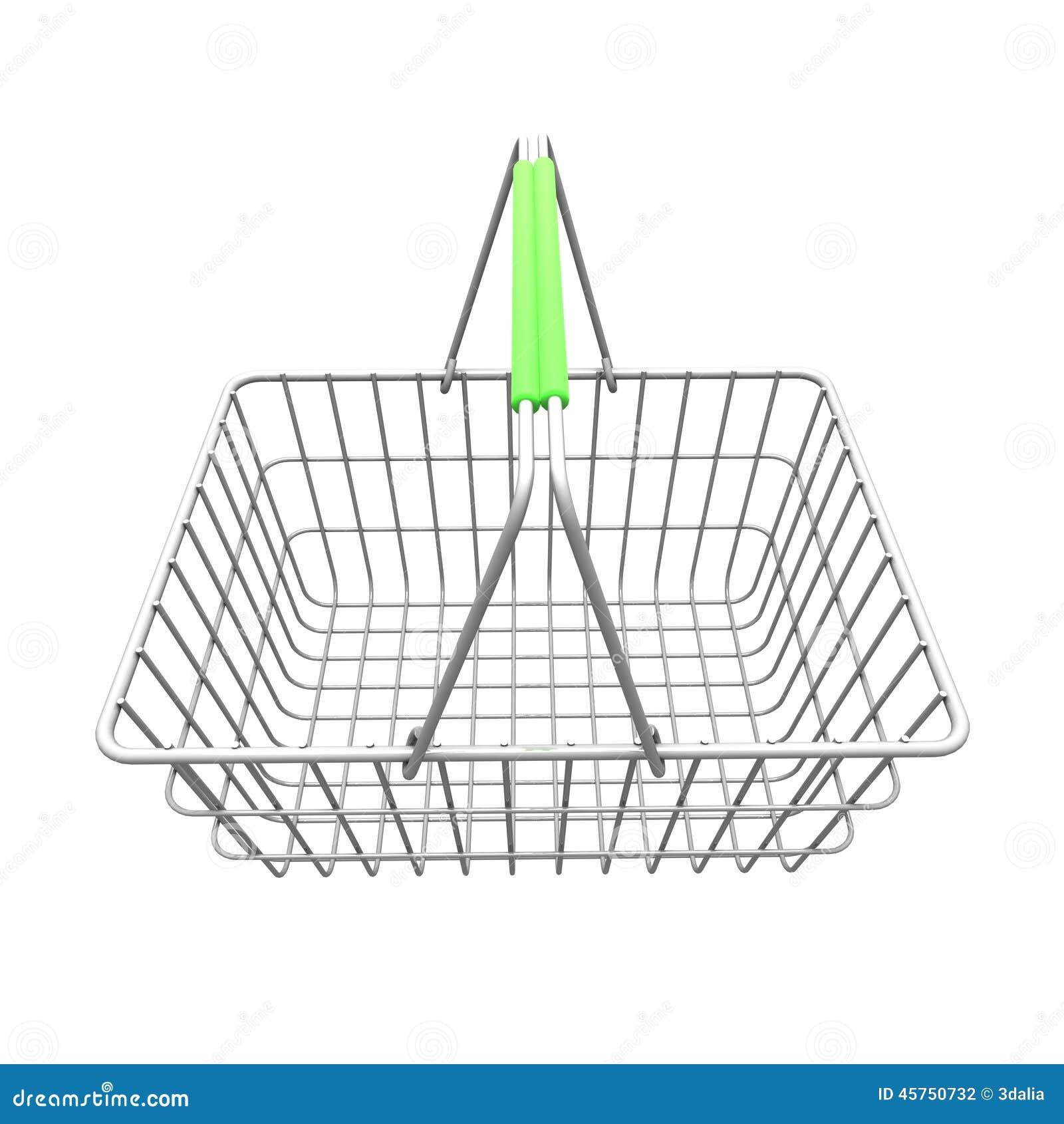 3d篮子空的购物